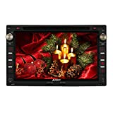 Pumpkin 7 inch Android 5.1 Lollipop Quad Core Car Radio Stereo Bluetooth Double Din In Dash Head Unit for PASSAT GOLF JETTA POLO TRANSPORTER Support GPS Navigation Car DVD CD Player with Multimedia System SWC DVR CAM-IN 1080P OBD2 DAB+