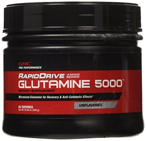 gnc-pro-performance-rapiddrive-glutamine-5000-unflavored-60-servings-by-gnc-pro-performance