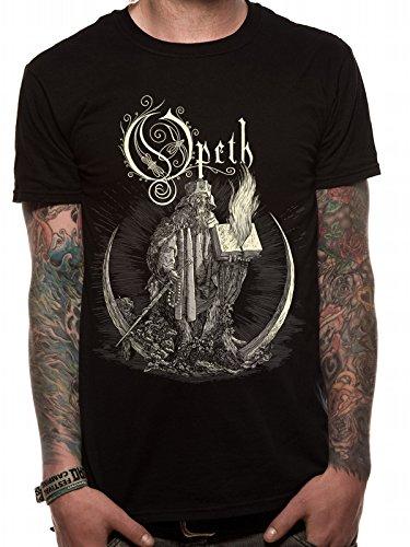 OPETH Opeth - Faith-T-shirt  Uomo    nero Small