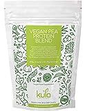 Kula Nutrition - Mix Proteine in Polvere di Piselli - 250gr - Senza Glutine e Lattosio - Alto Contenuto di Fibre, Pochi Grassi, Pochi Zuccheri e Ingredienti Nutrienti (75g di proteine in 100g)