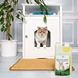 Geruchsneutralisierer Spray für Katzen – natürlicher Katzenurin Entferner – gegen Katzenklo Geruch (500ml Konzentrat ergeben 25 Liter gebrauchsfertigen Katzenurin Geruchsentferner) - 5