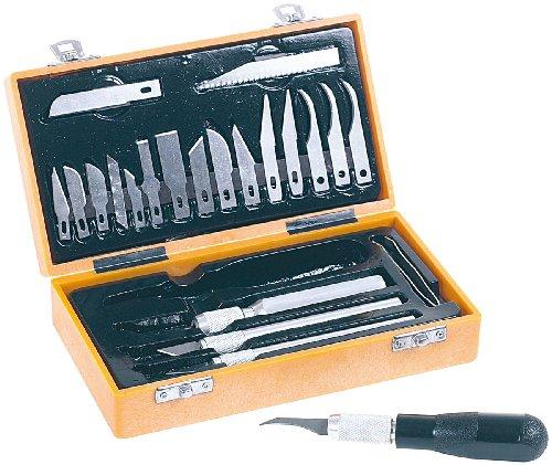 Unbekannt AGT Bastelmesser Set: Skalpell-Set (26 Teile) (Scalpel)