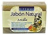 Bifemme Jabón arcilla - 100 gr, usado segunda mano  Se entrega en toda España