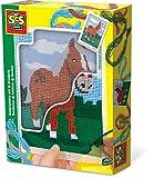 SES-Creative- Hobby e creatività Istruttivo ed educativo Animali Cavallo da Ricamare per Bambini SES, Colore, 867