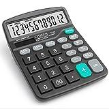 chou-rave calculatrice de bureau grosses touches à 12chiffres calculatrice de bureau solaire pour l'école Home Office