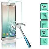 Tanque Cristal protector de pantalla para el Huawei shotx (Honor 7i)–-- Protector De Pantalla De Cristal Templado Con dureza 9H sólo 0,3mm de grosor–-- Incluye PATONA displaypad