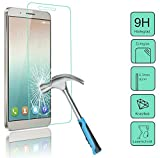 Char Verre d'écran pour le Huawei shotx (Honor 7I)–-- en verre trempé Film de protection avec Dureté 9H seulement 0,3mm d'épaisseur–-- + Patona displaypad