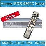 B-Ware Humax iPDR 9800 C Digitaler Twin Kabel-Receiver mit 160 GB Festplatte (Sky zertifiziert)