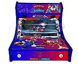 Arcade Machines - Mario vs Sonic - 2 jugadores Arcade Bartop Machine - 815 JUEGOS EN 1