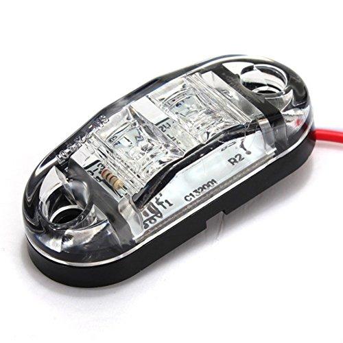 mfpower LED Side Marker Light Car Auto Anhänger RV Clearance Lampe E-Prüfzeichen - Anhänger Led-marker