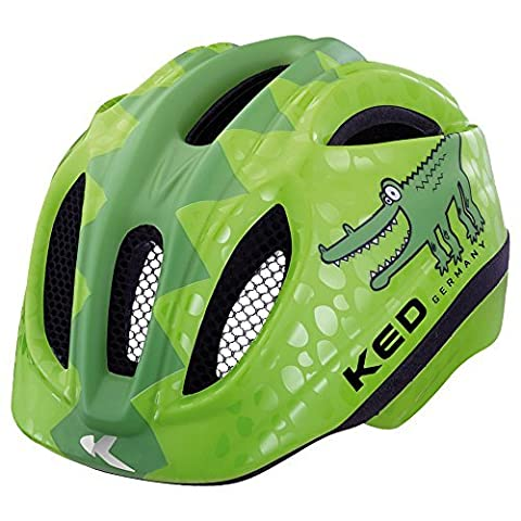 KED Fahrradhelm Meggy Reptile, Green Croco, 52-58 cm, 15409260M