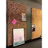20mm de grosor de corcho (2cm de grosor 100x 50cm Grueso corcho granulado 20mm grosor Dimensiones 1m x 0,50m Kim Kranholdt Sonderposten tablón panel aislante Interior y Exterior