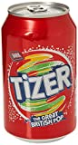 Barr Tizer Cans, 330ml, Pack of 24
