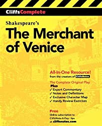 CliffsComplete The Merchant of Venice: Complete Study Edition (Cliffs Notes) by William Shakespeare (2000-04-25)