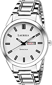 Laurels Invictus Day Date Men's Wrist W