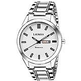 #10: Laurels Invictus Day Date White Dial Men's Wrist Watch- LMW-INC-III-010707