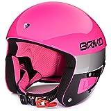 Briko Vulcano FIS 6.8 Helm Pink Explosion Black, Rose, 58