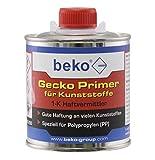 BEKO 245250 Gecko Primer für Kunststoffe, 250 ml Pinseldose