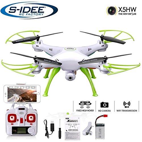 s-idee® 01632 X5HW Quadrocopter Syma