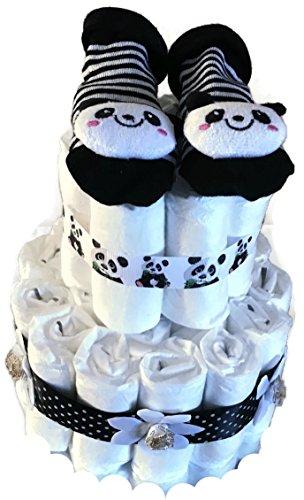 Panda Baby Shower New Mum - Pañales unisex
