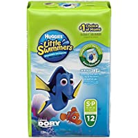 Huggies Little Swimmers Diapers Small (12 Pieces)