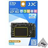 JW LCP-XE2 Guard Film Digital Camera LCD Screen Protector For Fujifilm X-E2 + JW emall Micro Fiber Cleaning Cloth