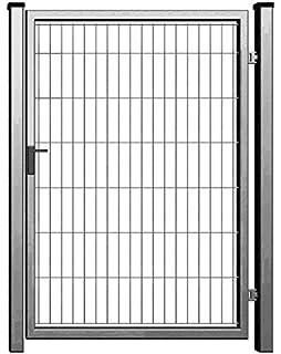 Camas Ben Light Drahtgittertor 1830 mm x 1500 mm Anthrazit RAL 7016 das robuste Gartentor f/ür Doppelstabmattenzaun