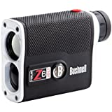 Bushnell 6x21 Tour Z6 Jolt - Medidor láser golf, blanco y negro