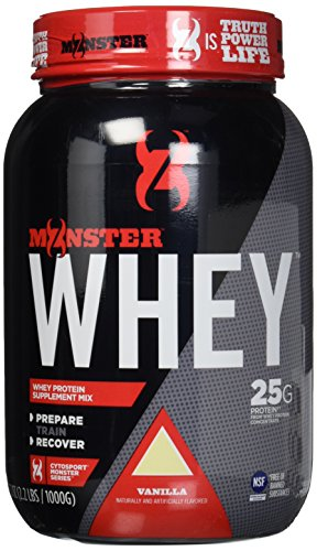 Cytosport Monster Whey Supplement, Vanilla, 2.2 Pound by Muscle Foods USA, LLC.
