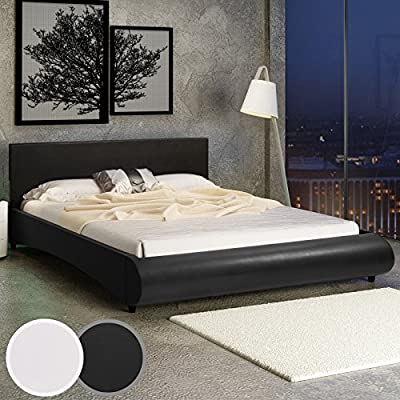 Jago LEBT02-2 Faux Leather Bed DIFFERENT COLOURS - low-cost UK light store.