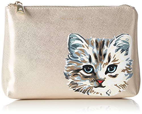 Paul & Joe SisterCosmetic pouch - Beauty Case Donna , Beige (Beige (411)), 24x17x5 cm (B x H x T)