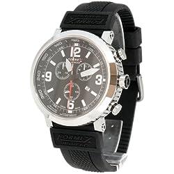 Formex 4 Speed Men's Quartz Watch TS725 7251.3020/RBBK with Rubber Strap