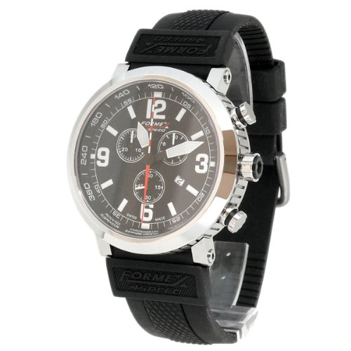 Formex 4 Speed Men's Quartz Watch TS725 7251.3020/RBBK with Rubber Strap