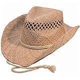 Hawkins Hombre Sombrero de cowboy Natural Straw
