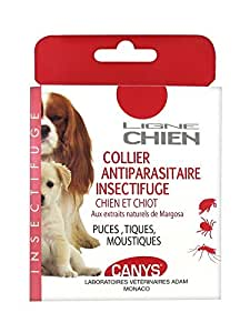 Canys Collier Antiparasitaire Insectifuge Chien et Chiot 1 Collier