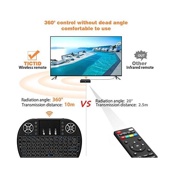 NBKMC-4K-TV-Box-Android-60-2G-16G-Quad-Core-Smart-TV-Box-Clavier-sans-fil-Couleurs-modifiables-Botier-Intelligent-et-64-Bits-True-4K-Play-H265-WIFI-24Ghz-X96