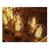 Set di 3lampade Vintage Bulb Edison E27BT55