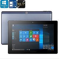 Homyl 2 in 1 Ultrabook Tablet 4G 10.1'' Dual System windows 10 + Android 5.1 Tablet PC Quad Core 4G + 64G Tablet Inkl. USB-Kabel