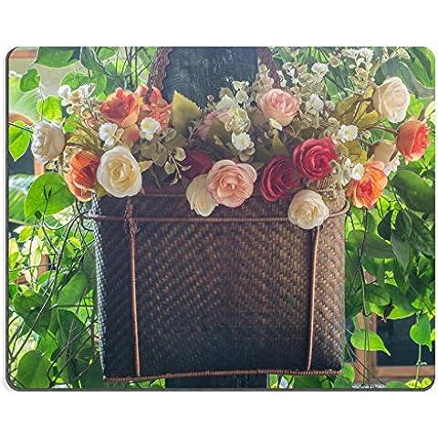 MSD Caucho Natural Gaming Mousepad imagen ID 33150771Flores en el jardín Plantar en una cesta