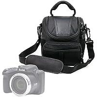 Protective Black Durable Water-Resistant Carry Case for the Kodak Pixpro AZ252 | AZ365 | AZ521 | AZ522 | AZ525 | AZ651 | FZ201 | FZ41 | FZ51 | WP1 Sport | AZ401 & Mini Shot - by DURAGADGET