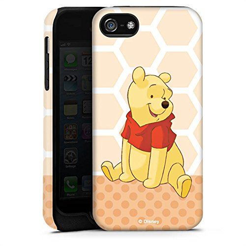Apple iPhone X Silikon Hülle Case Schutzhülle Disney Winnie Puuh Merchandise Zubehör Tough Case matt