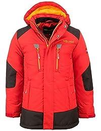TROLLKIDS Parka Infantil de Invierno con Forro Polar y Chaqueta de Esquí Narvik