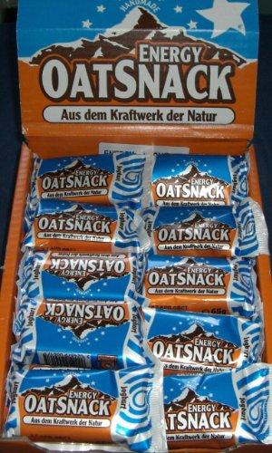 Davina Energy OatSnack, Müsli Riegel von Hand gemacht, Joghurt, 30 x 65 g, 1er Pack (1 x 1.95 kg)