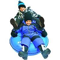 Resbaladizo Racer airdual Tubo de nieve trineo hinchable, color azul