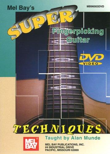 SUPER FINGERPICKING GUITAR TECHNIQUES REINO UNIDO DVD