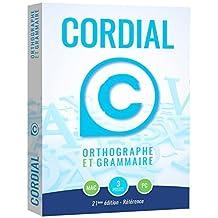 Cordial 21 Référence : correcteur et dictionnaires du français