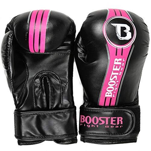 Booster Boxhandschuhe Kinder, Future V2, schwarz-pink Größe 8 Oz
