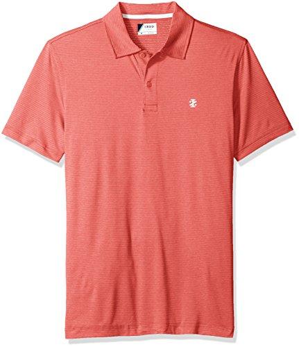 IZOD Herren Poloshirt Gr. S, burgunderrot (Izod-pique Polo Shirt)