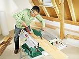 Bosch DIY Tischkreissäge PTS 10 T, Untergestell, Spaltkeil, Tischverlängerung, Winkelanschlag, Absaugschlauch, Karton (1400 W, Kreissägeblatt Nenn-Ø  254 mm, Schnitttiefe bei 90° 75 mm) -