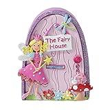 Lucy Locket Porta Casa della fatina per bambini (decorazione da parete, porta fatata, decorazione per bambini)